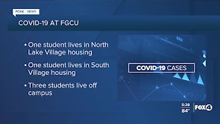 New COVID-19 cases at FGCU