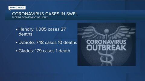 Here's a snapshot of coronavirus cases in Southwest Florida, as of July 5