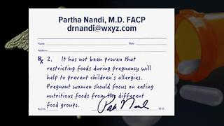 Ask Dr. Nandi: Mom's sweet tooth may be linked to child's allergies - Video