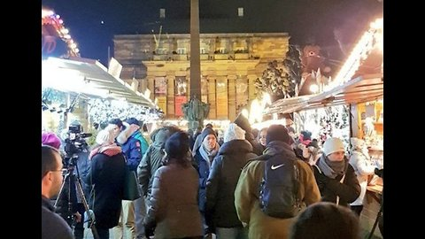 Strasbourg Christmas Market Reopens to Lively Crowds