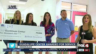 Guadalupe Center gets award for service in Immokalee - Video