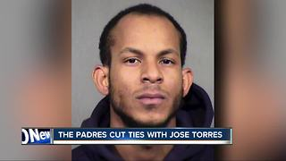 Padres release pitcher accused of domestic violence