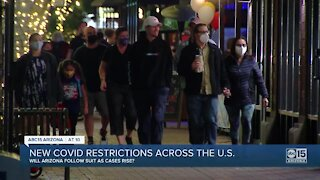 New COVID-19 restrictions across the U.S.
