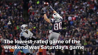 NFL Divisional Games Hit 9-Year Low In Ratings - Video