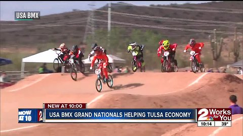 USA BMX grand nationals this week in Tulsa