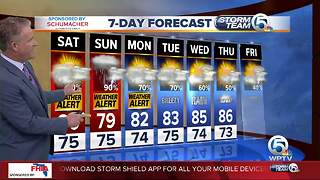 Latest Weather Forecast 6 p.m. Friday - Video