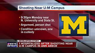 Police investigate shooting near University of Michigan campus in Ann Arbor