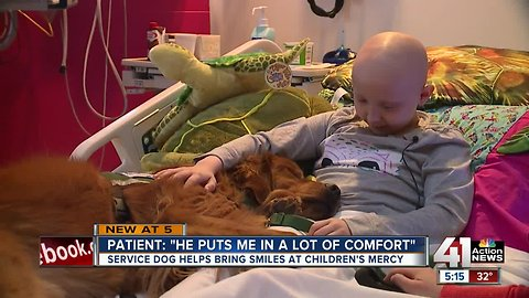 Treatment at Children's Mercy sometimes takes 4 legs