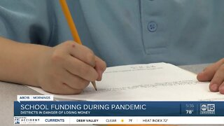 School districts in danger of losing money amid pandemic