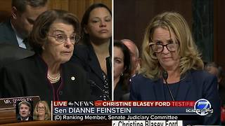 Dr. Ford says she has not mistaken identity of Kavanaugh in recollection - Video