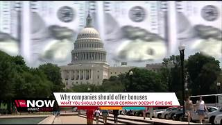 Why companies should offer bonuses - Video