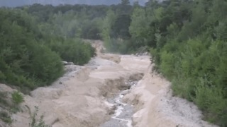 Amazing Footage of Debris Flow in Illgraben - Video