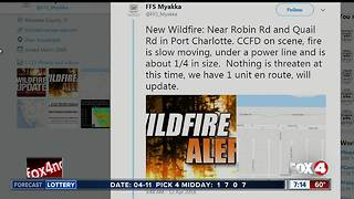 New fire in Charlotte County