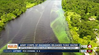 Army Corps admits to releasing toxic water into Caloosahatchee River