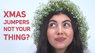 How To Christmas Flower Crown: Ivy Crown - Video