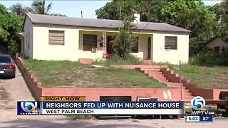 Neighbors say home is 'chronic nuisance' - Video