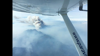 Tasmania Mountain Scorched by Bushfires