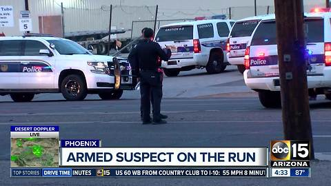 Suspect sought after officer-involved shooting in Phoenix