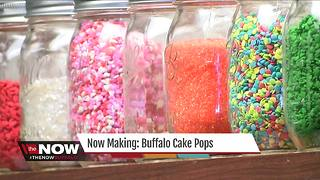 Now Making: Buffalo Cake Pops - Video