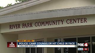 Camp counselor fired for hitting child - Video
