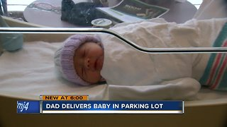 Brookfield couple delivers baby in parking lot