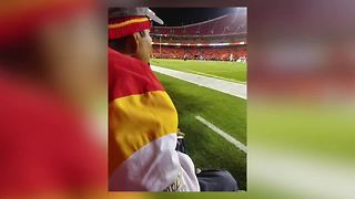 Father travels to Arrowhead for dying wish - Video
