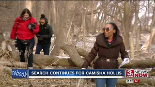 Second search for Camisha Hollis - Video