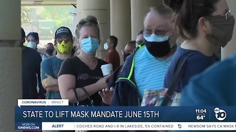 Newsom signals possible end to most COVID-19 mask-wearing mandates