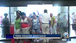 FEMA disaster assistance in Greenacres - Video