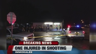 Man shot in Immokalee - Video