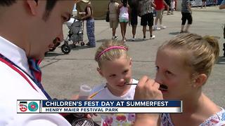 Children's Fest Day at Summerfest - Video