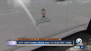 City of PBG adds electric vehicles to its fire department - Video