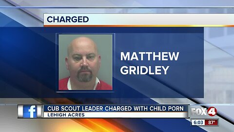 Man found with child porn was a cub scout leader in Southwest Florida