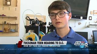 Tucson teen heading to Washington, D.C. for Boys Nation program - Video