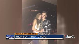 High school student from Henderson protects girlfriend during shooting - Video