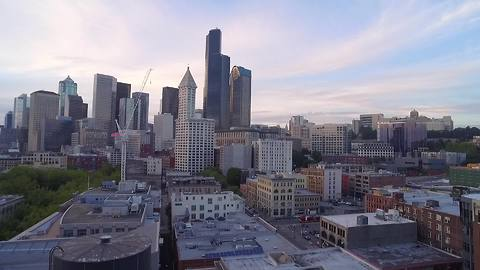 30 amazing drone shots of Seattle in 30 seconds