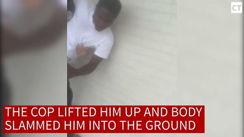 Teen Tries Chokehold On Cop...Gets Immediate Justice