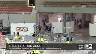 Third election audit set to begin Friday in Maricopa County