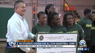 Local high school students chosen for all-star basketball camp - Video
