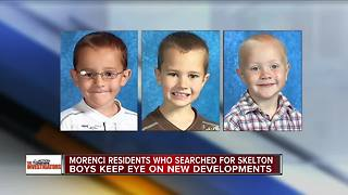 Morenci residents who searched for Skelton boys keep eye on new developments - Video