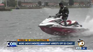 INCREASE IN ARRESTS OF IMMIGRANTS SMUGGLED INTO SAN DIEGO BY SEA - Video