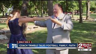 Coach Trimble talks football, family, faith - Video