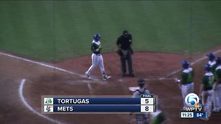 Tebow's Hit Streak Continues In Mets Win - Video
