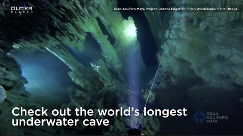 Longest Underwater Cave Discovered In Mexico