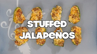 How to Make Sausage Stuffed Jalapenos | MDelicious - Video