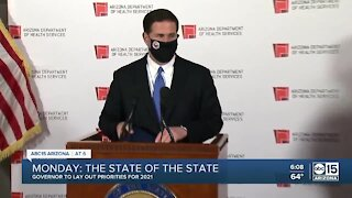 What to expect during Monday's State of the State address