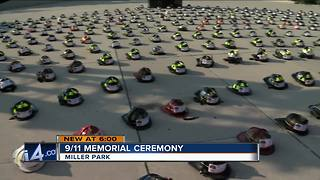 Milwaukee Fire Department honors those who died on 9/11 at Miller Park ceremony - Video