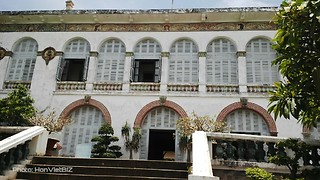 White Palace in Vung Tau - South Vietnam   - Video