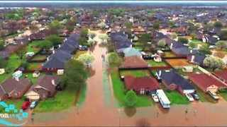 Thousands Evacuated as Heavy Rain Inundates Bossier City - Video