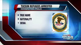 Tucson refugees charged with immigration fraud